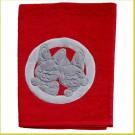Kiboe Badhanddoek rood 110*70cm