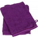 ARTG Towelzz® Washandje 100% Katoen - Aubergine - Set 10 stuks