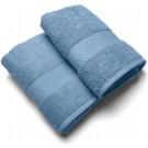 Casilin Royal Touch - Badlaken - Jeans - 65 x 125 cm - Set van 2